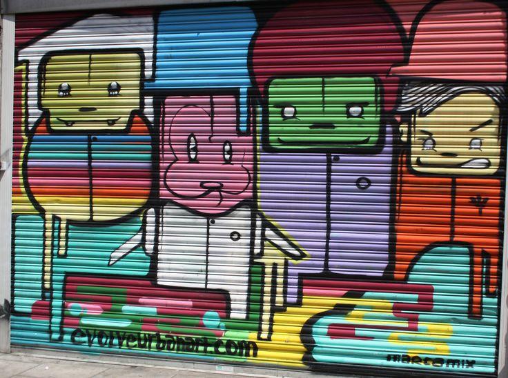Awesome artwork in Dublin. Artist/s: Evolve Urban Artwork (www.evolveurbanart.com)