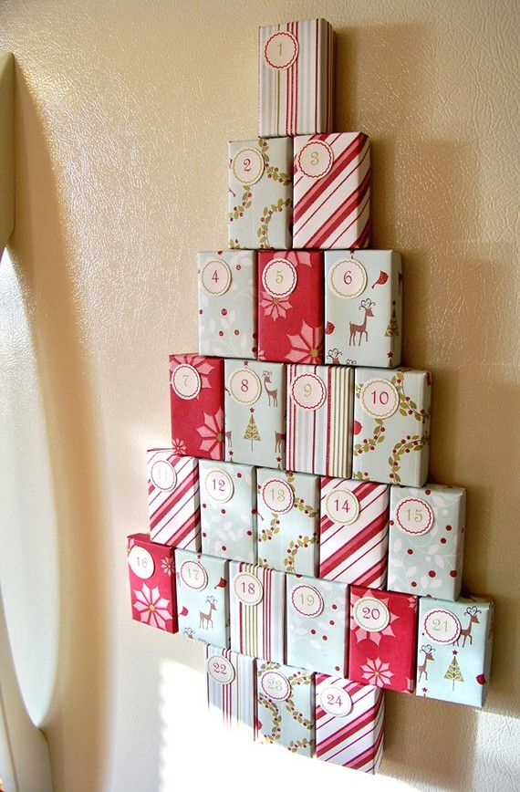 Diy Chocolate Advent Calendar : Candy cane u fill magnetic advent calendar toys holiday