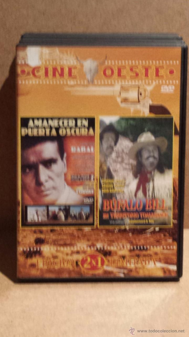 AMANECER EN PUERTA OSCURA / BÚFALO BILL - 2 EN 1 - DVD DE LUJO.