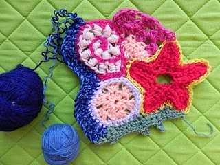 tutorial free form crochet