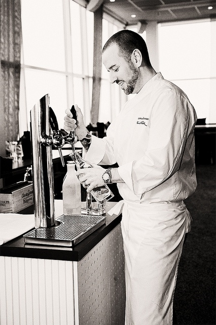 Thoreau-tap, best tapped water ever, in use in the beautiful Heaven23/Gothia Towers, via Flickr
