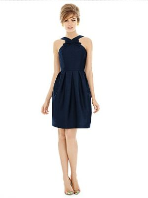 Pippa dress  #blue #midnight #cocktail  http://www.bellebridesmaid.com.au/product/pippa/
