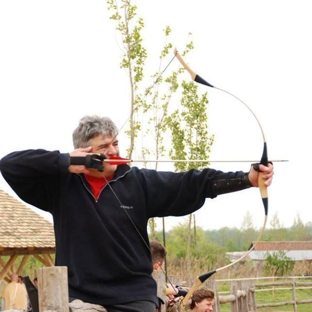 #Hungarian #veteran #archer  #Me - Az adai Lovasvölgyben 2016 áprilisában