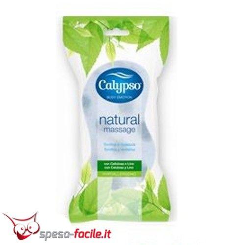 € 1,34  CALYPSO SPUGNA CORPO MASSAGE SPONTEX . Studiata per offrire una duplice azione, la spugna corpo Calypso Massage è ideale per un bagno tonificante.