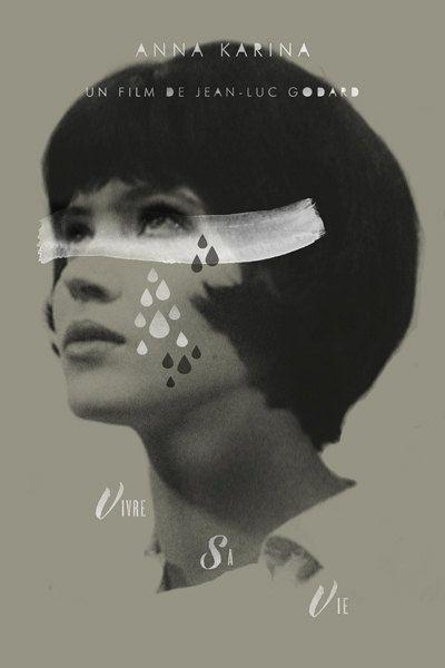 """Vivre sa vie - Jean-Luc Godard 1962 - DVD08247 -- """"Pour boucler ses fins de mois & lutter contre l'ennui, Nana, vendeuse dans un magasin de disque, décide de se prostituer."""""""