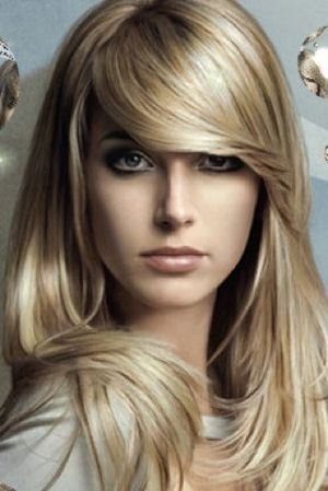 The cut is awesome: Haircuts, Hairstyles, Hairs Cut, Haircolor, Blondes Hairs, Hairs Styles, Hairs Color, Bangs, Low Lighting