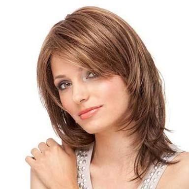 Resultado de imagem para cortes de cabelo para rosto redondo