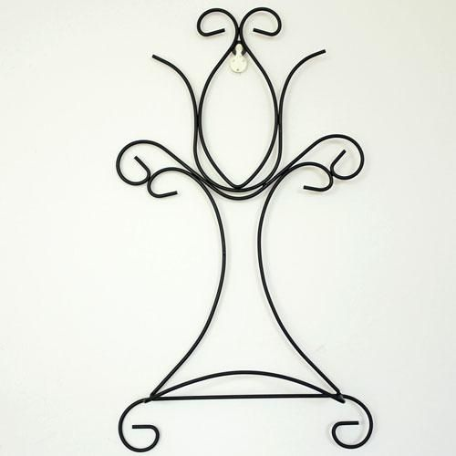 Wrought Iron Decorative Metal Wall Plate Holder  sc 1 st  Pinterest & Wrought Iron Decorative Metal Wall Plate Holder | Plate holder ...