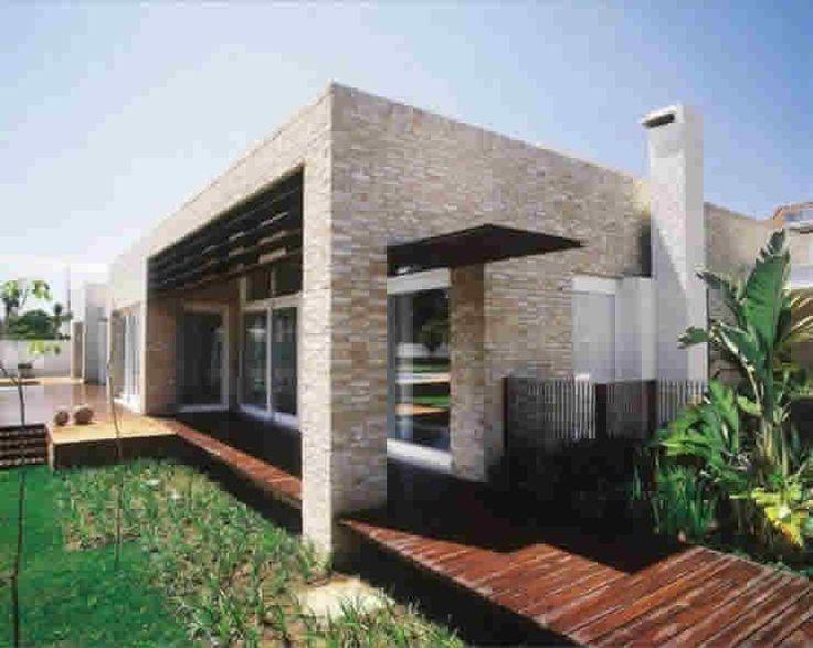 Casas fachada sem telhado casa fachadas casas modernas - Fachadas casas rusticas modernas ...