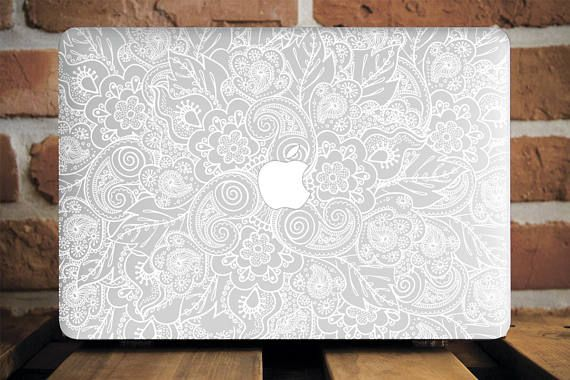 White  MacBook Pro Retina 15 Case MacBook Air 13 Cover MacBook