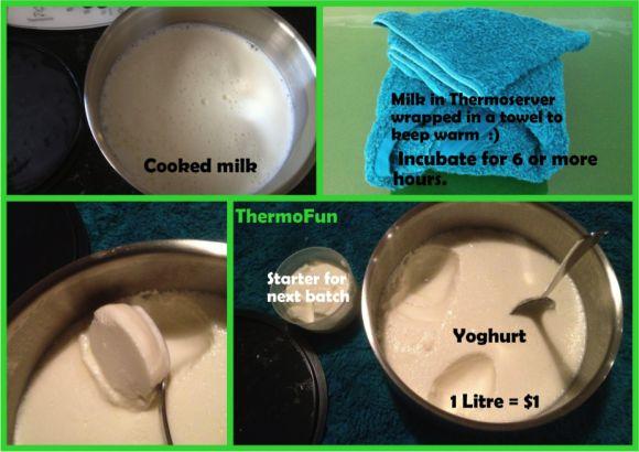 Yoghurt thermomix