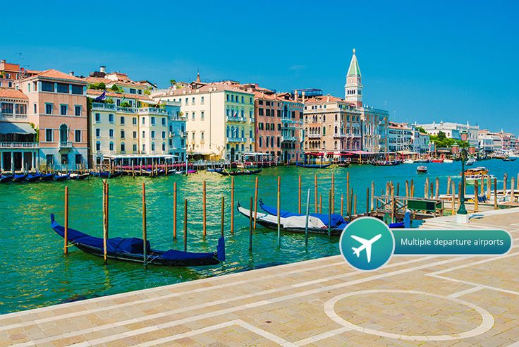 2-3nt 4* Venice Break with Flights & Gondola Ride deal in Holidays Enjoy a magical two or three-night stay in beautiful Venice.  With return flights from Gatwick, Stansted, Luton, Edinburgh, Bristol, Manchester and East Midlands airport.  Stay at the 4* Hotel Delfino or 4* Smart Hotel Holiday.  And enjoy a romantic gondola ride!  Valid for travel on selected dates until 30th Aug 2017 (see Fine...