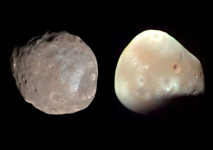 The two small moons of Mars: Phobos and Deimos Image Credit: NASA/JPL-Caltech/University of Arizona