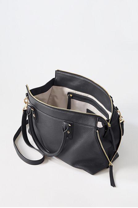 Leder-Handtasche Regatta