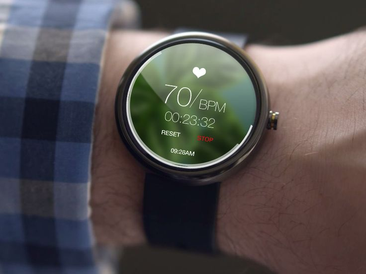 Heart Beat Monitor Android Wear