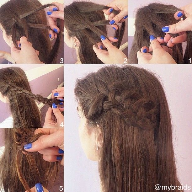 670 Best Hair Styles Images On Pinterest Hair Dos