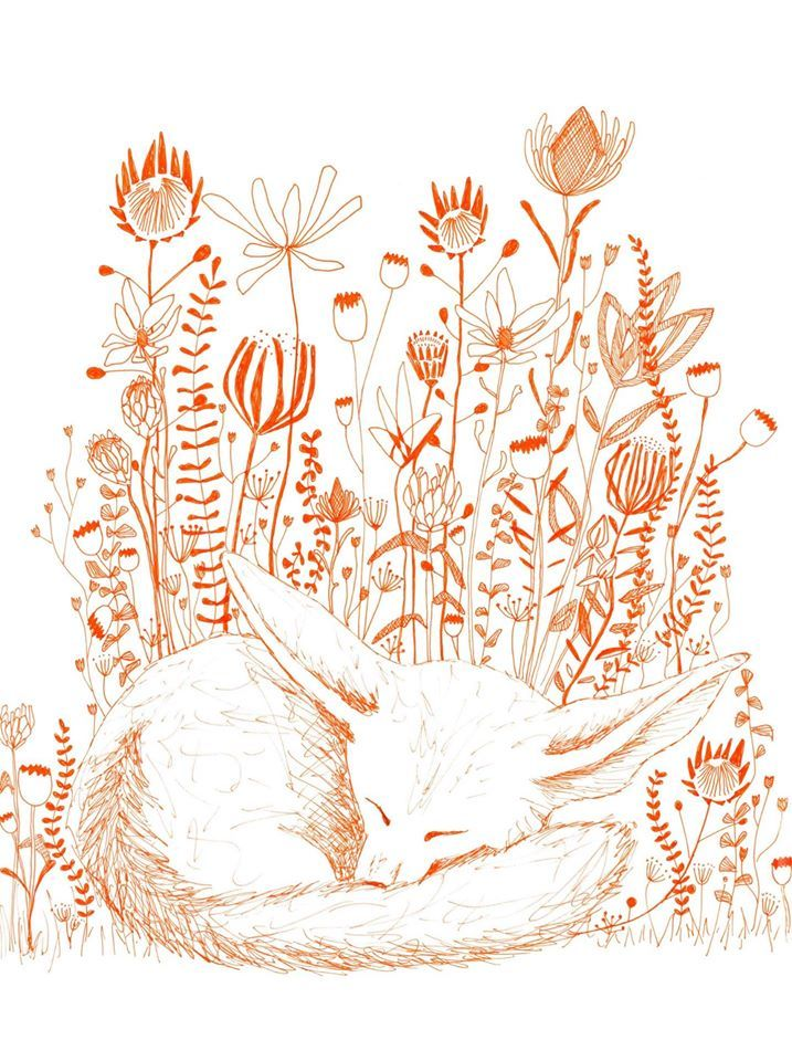 Sleeping Fox - Paper Tales
