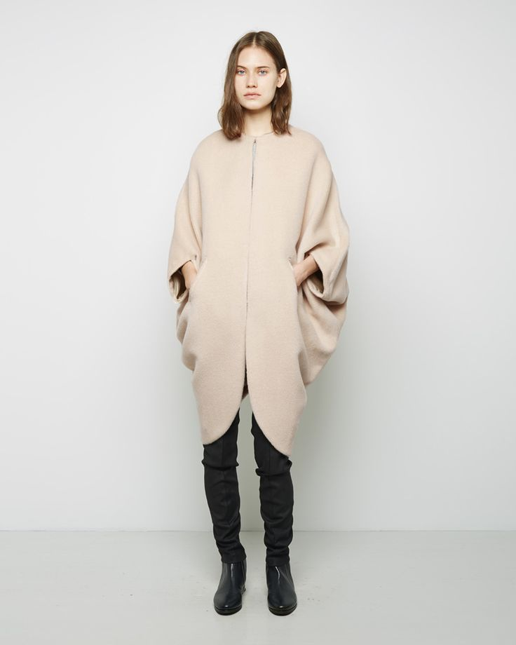 beautiful silhouette / Koya Coat by Zero + Maria Cornejo