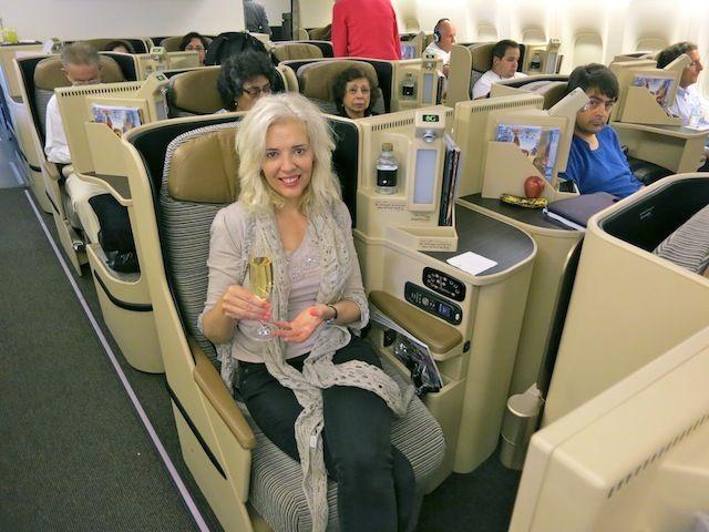 Главное отличие бизнес-класса арабских авиакомпаний от европейских