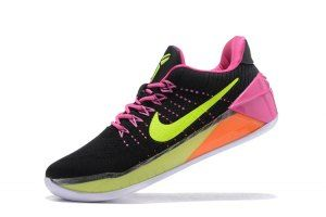 huge discount 8ac09 ce5b1 ... release date mens nike kobe bryant 12 ep flyknit ad black pink green  boys basketball shoes