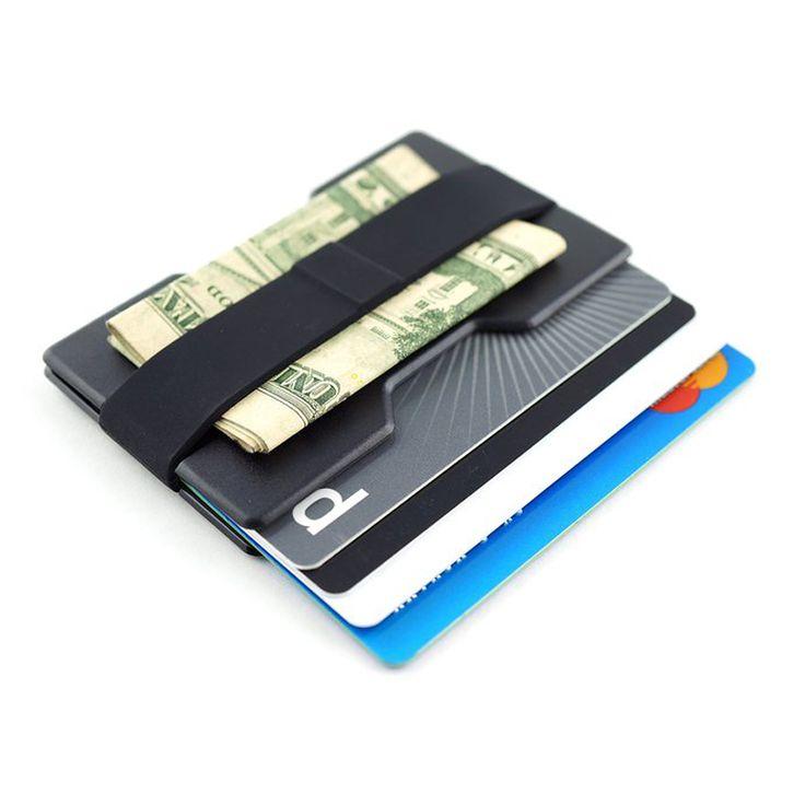 NewBring Credit Card & ID Holders Business Card Wallet Man case bag Wallet Holder RADIX ONE money clip