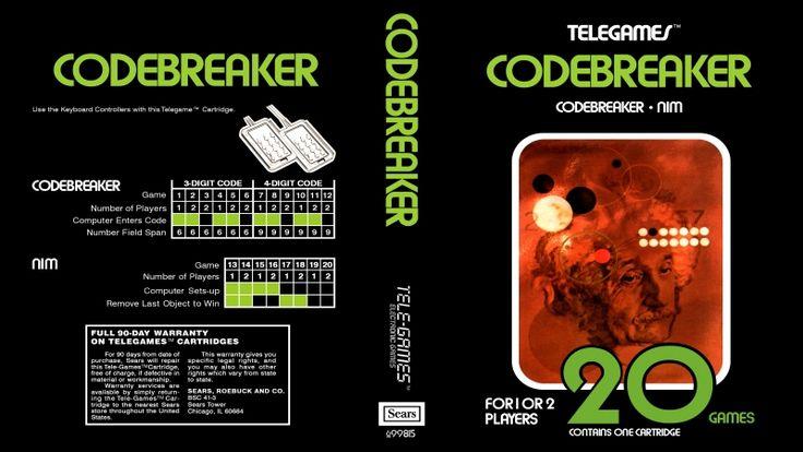 Jogue Codebreaker 2600 Atari online grátis em Games-Free.co: os melhores 2600, SNES e NES jogos emulados no navegador de graça. Não precisa instalar ou baixar.