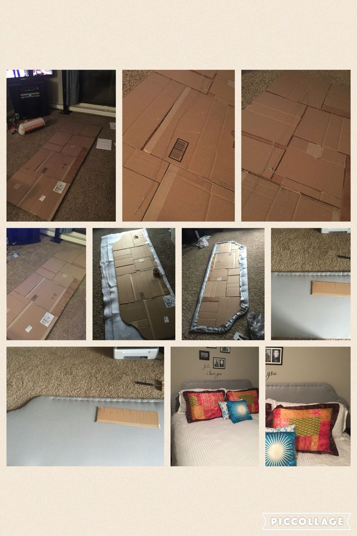1000 Ideas About Cardboard Headboard On Pinterest Headboard