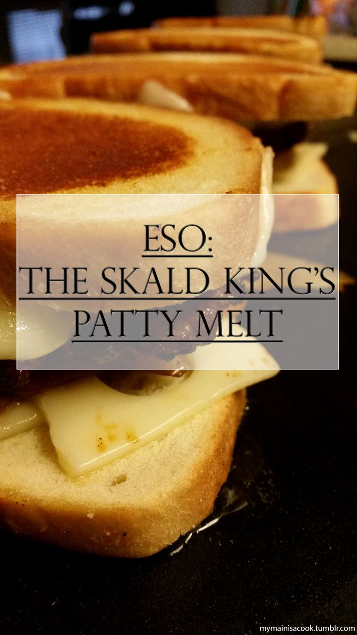 ESO: The Skald King's Patty Melt