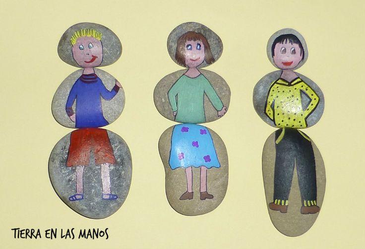 M s de 1000 ideas sobre piedras de r o en pinterest - Piedras de rio pintadas ...