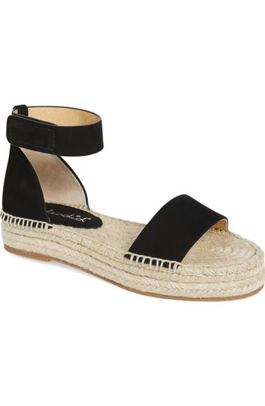 Modern, sleek, and effortless. These wear-with-everything espadrilles are a warm weather must-have.