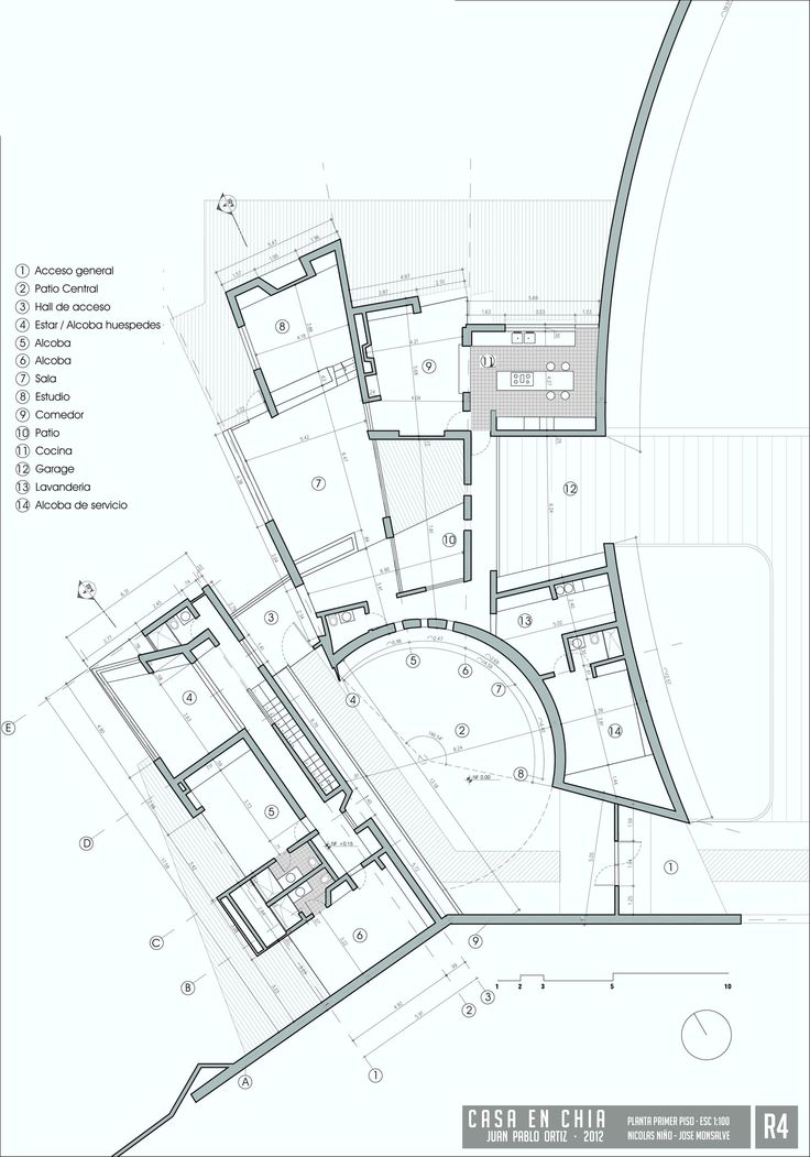 planta de acceso / access floor /