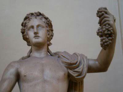 Dioniso ou Dionísio (em grego: Διόνυσος, transl.: Diónysos) é na antiga religião grega o deus dos ciclos vitais, das festas, do vinho, da insânia, do teatro, dos ritos religiosos mas, sobretudo, da intoxicação que funde o bebedor com a deidade. Equivalente ao romano Baco. Foi o último deus aceito no Olimpo, filho de Zeus e da princesa Semele, também foi o único olimpiano filho de uma mortal, o que faz dele uma divindade grega atípica.