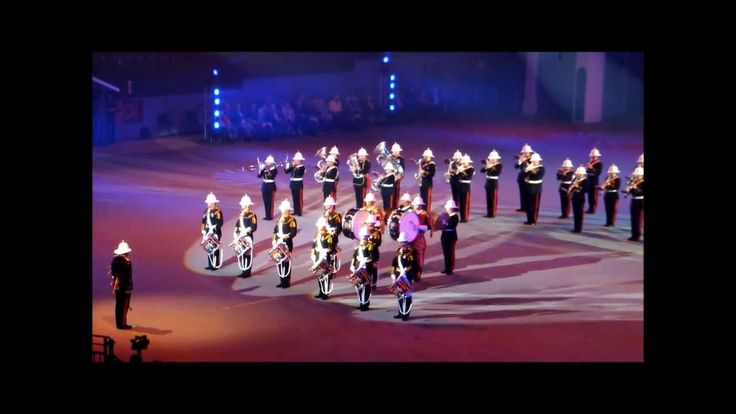 H.M. Royal Marines Band Portsmouth - Taptoe Ahoy 2013