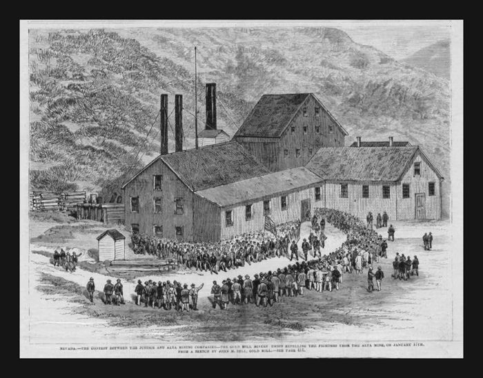 Dartmoor mining history in nevada