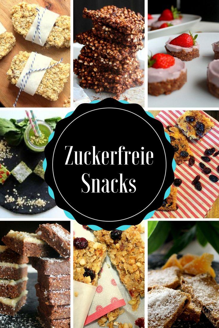 Jede Menge Rezepte für zuckerfreie Snacks und Müsliriegel findest du auf unser…