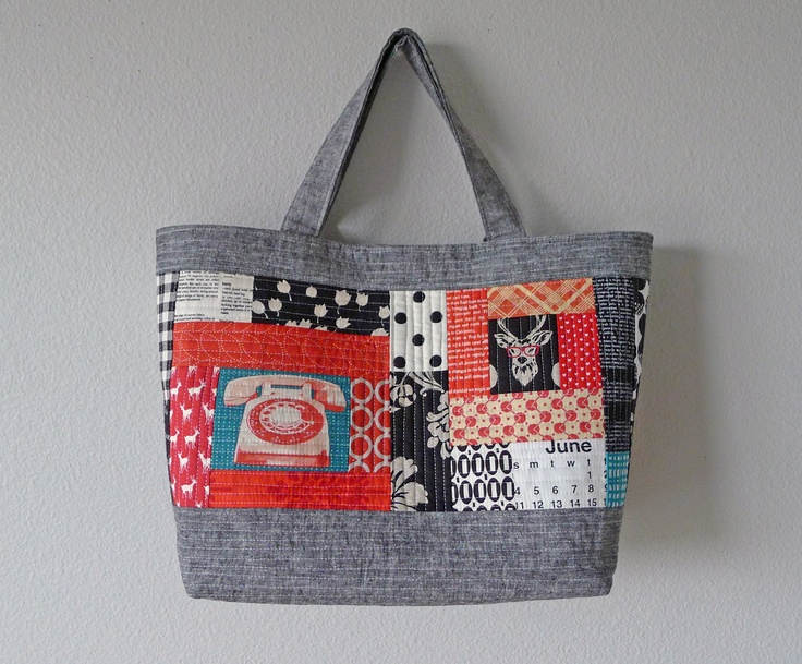 33 best Oh Fransson! images on Pinterest | Bags, Backpacks and ... : quilt as you go tote - Adamdwight.com