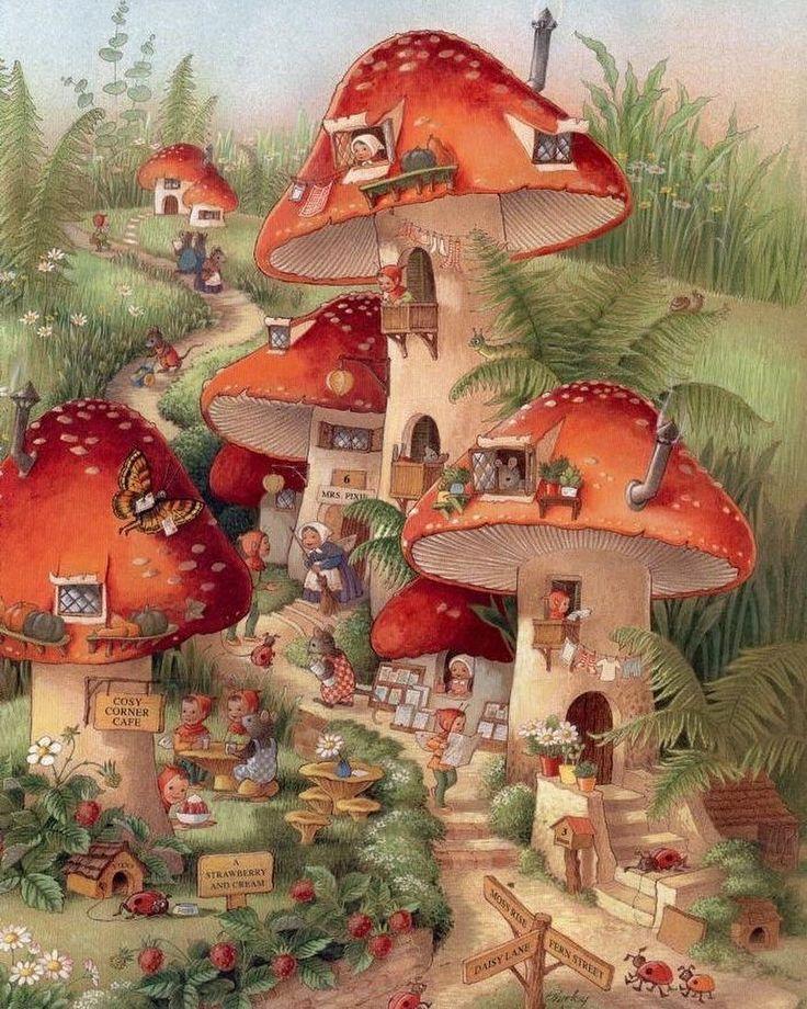 toadstool village
