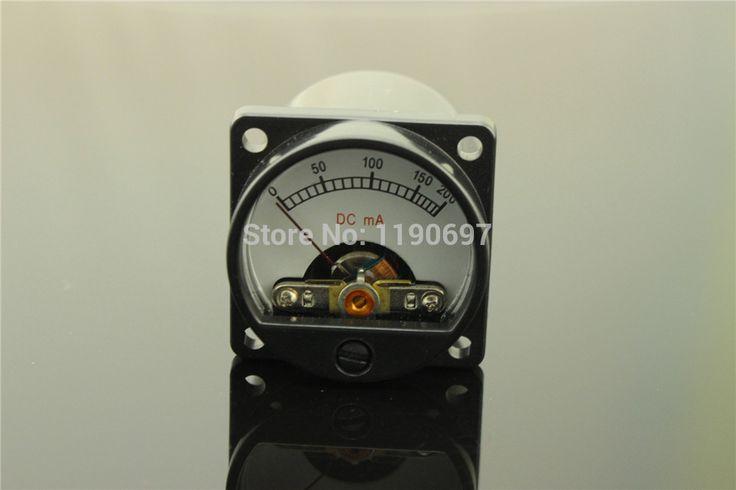מד זרם מד אודיו 200MA 1 חתיכה 6-12 V רמת שמע עם תאורה אחורית משלוח חינם חם