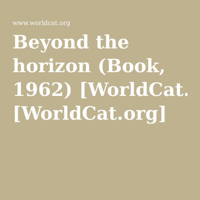 Beyond the horizon (Book, 1962): The Tide Won't Wait, p. 42