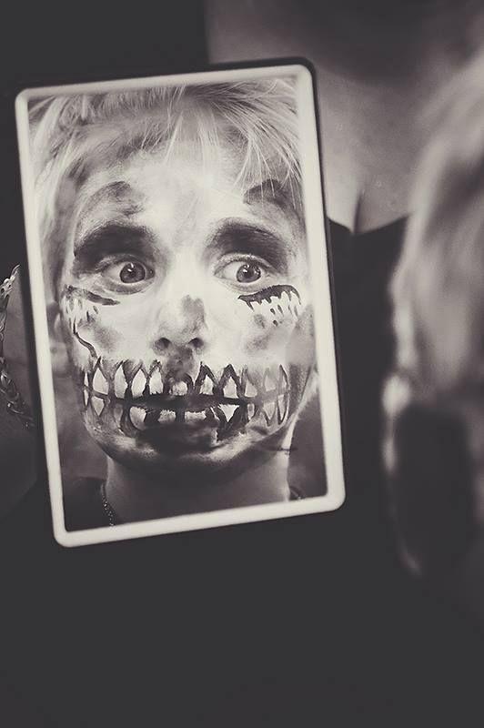 face painting skeleton