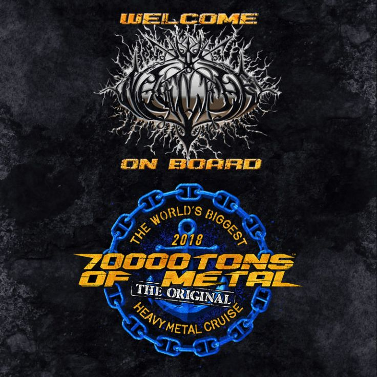 The ship of nails, NAGLFAR, emerges from the dark foggy distance… to join you, 2,999 of the craziest Metalheads from around the Globe and 59 other heavy hitting Metal bands on board 70000TONS OF METAL 2018, The Original, The World's Biggest Heavy Metal Cruise!