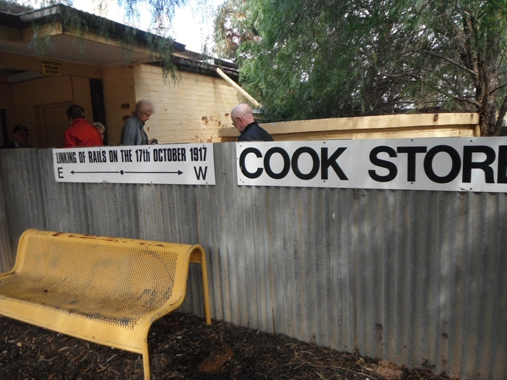 Cook station, Nullabor Plains.
