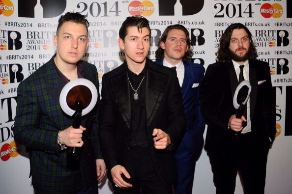 Arctic monkeys won 2 awards