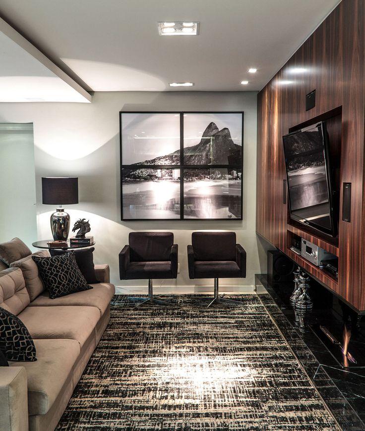 Para acolher e relaxar. Veja: http://casadevalentina.com.br/projetos/detalhes/para-acolher-e-relaxar-545 #decor #decoracao #interior #design #casa #home #house #idea #ideia #detalhes #details #style #estilo #casadevalentina #livingroom #saladeestar