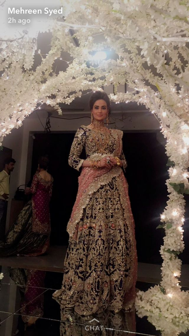Sara Rohale Asghar bride