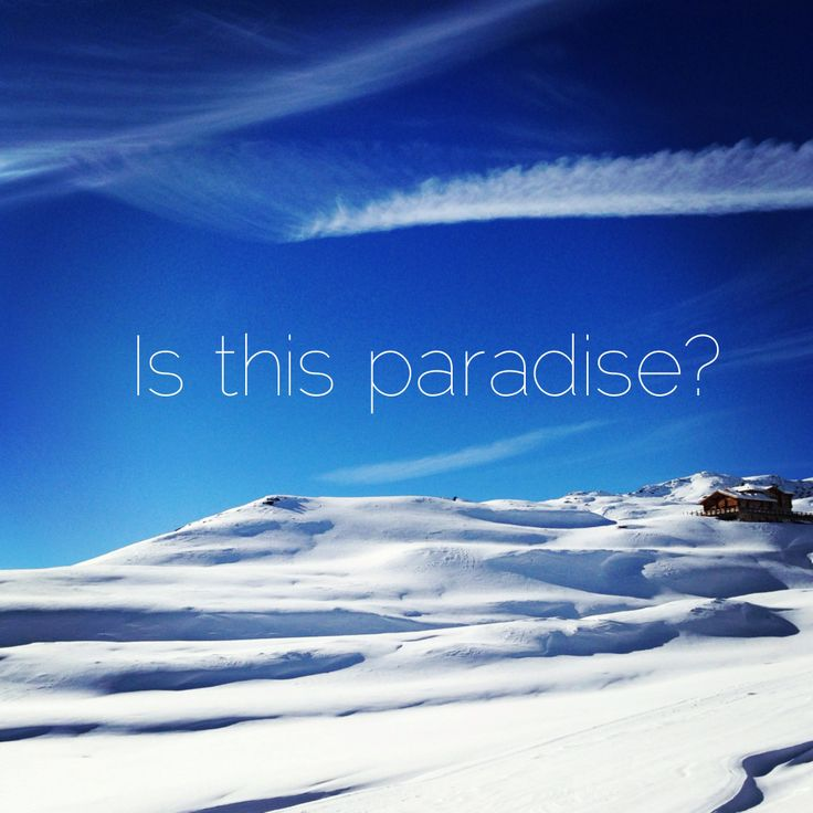 Is this paradise?