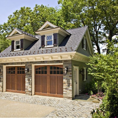 64 best images about carport garage porches on pinterest for Garage with dormers