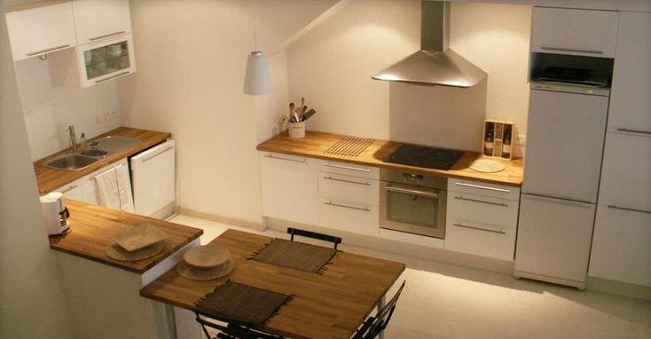 Double hauteur plan de travail la cuisine pinterest - Rajeunir une cuisine ...