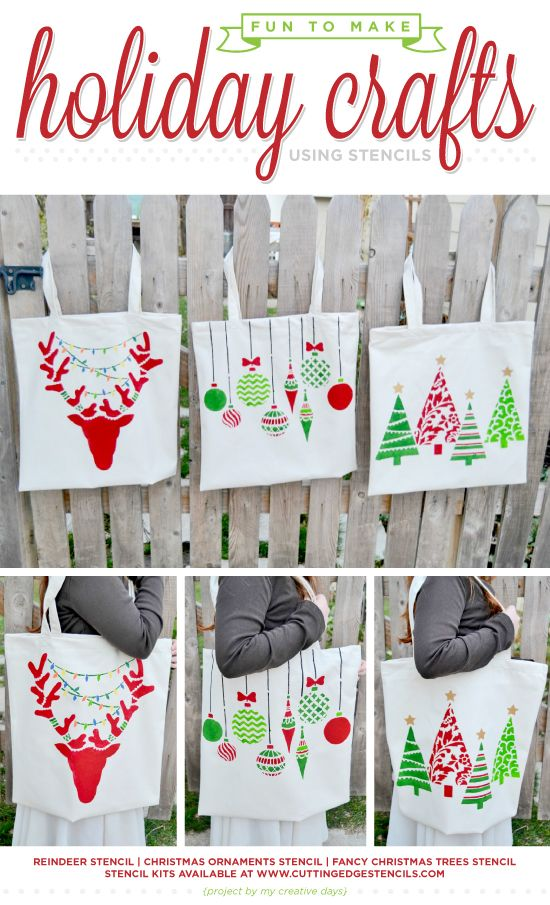 fun diy crafts 85 best stenciled fabric and tote bags images on 2064