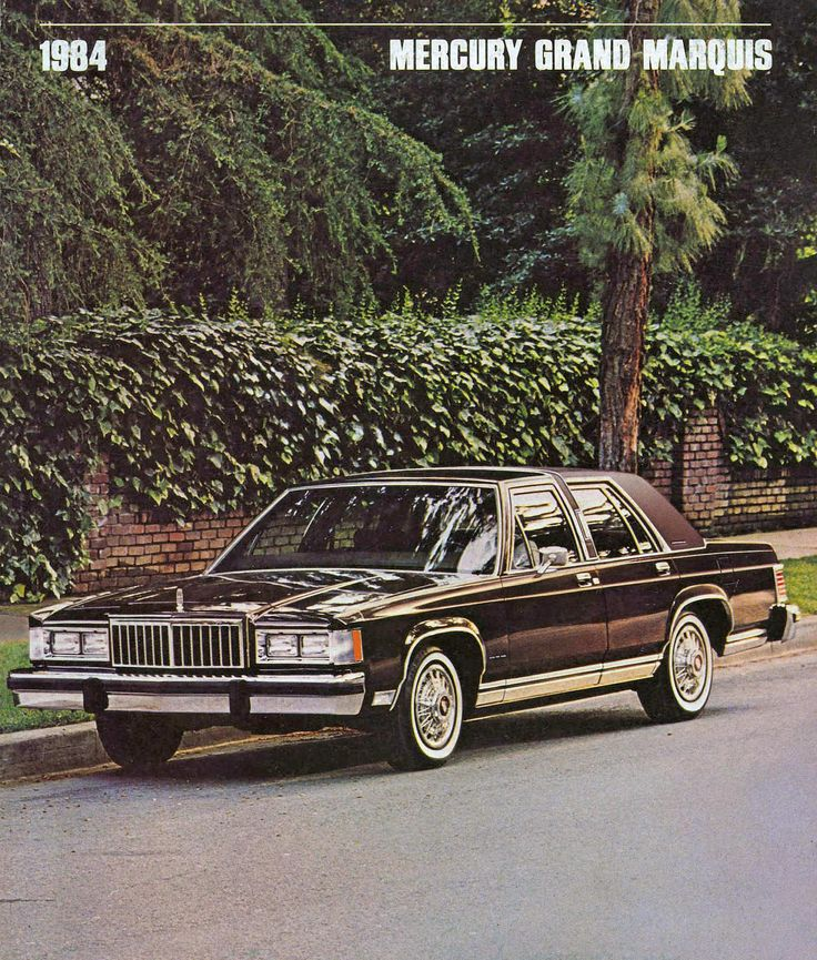 1984 Mercury Grand Marquis LS